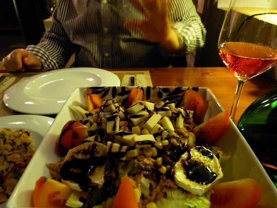 Almazara de San Pedro: Nuestra cena romantica