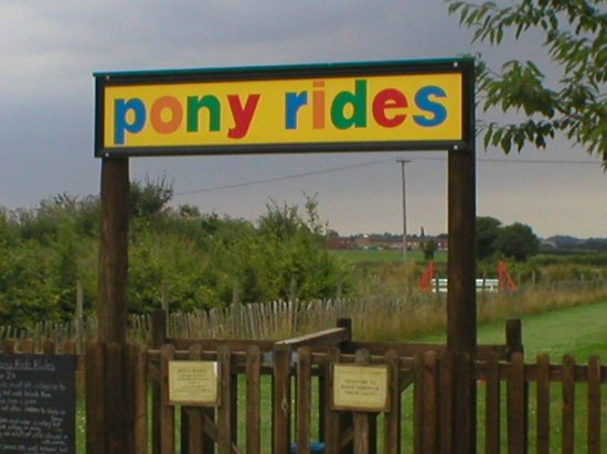 The Playbarn: Pony rides (Easter to October)