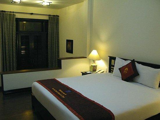 Hoi An Trails Resort: habitación colonial