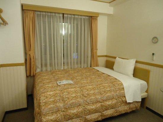 Toyoko Inn Busan No.1: 広めのベッド