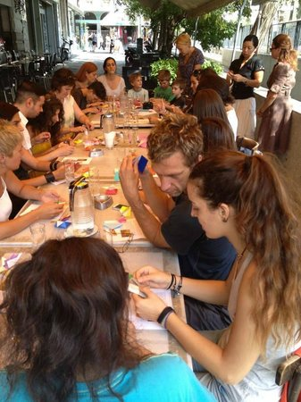 CAMP Contemporary Art Meeting Point: Origami workshop at CAMP!