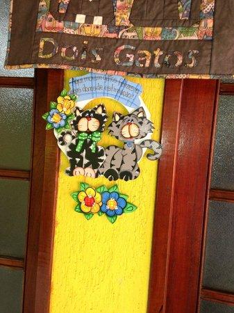 Casa Dois Gatos: Entrada