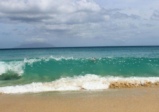 Sunset Beach Hotel: бывает сложно выйти из океана с такими волнами:)