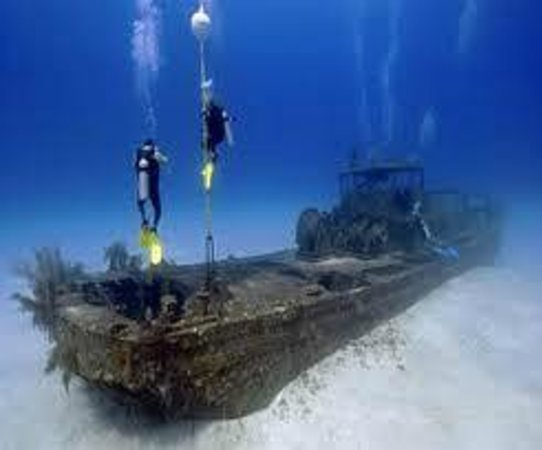 Pirate Divers: our fave wreck, the Doc Poulson