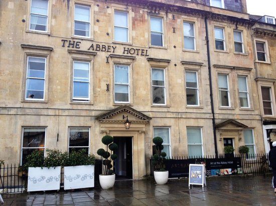 The Abbey Hotel: Front of Hotel