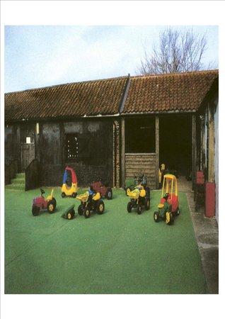 The Playbarn: Tractor courtyard