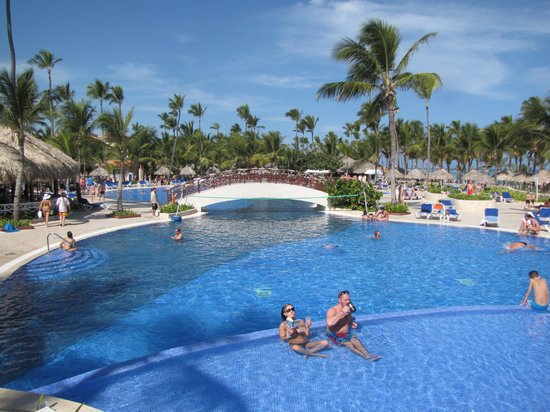 Grand Bahia Principe Punta Cana: One of the many nice pools
