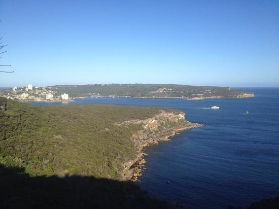 The Spit Bridge to Manly Walk : spit to manly
