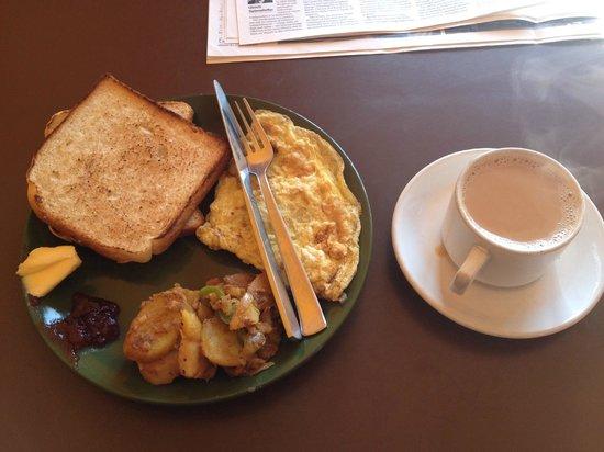 Hotel Himalayan Heart : Breakfast