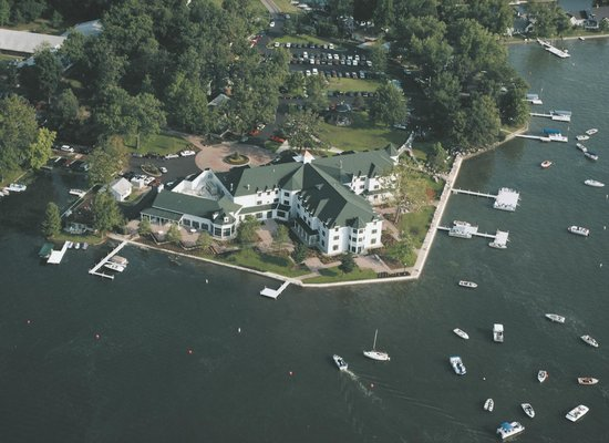 ariel view of the hotel picture of oakwood resort