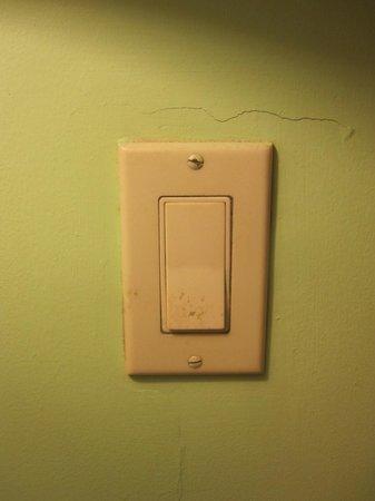 Gamboa Rainforest Resort: light switch