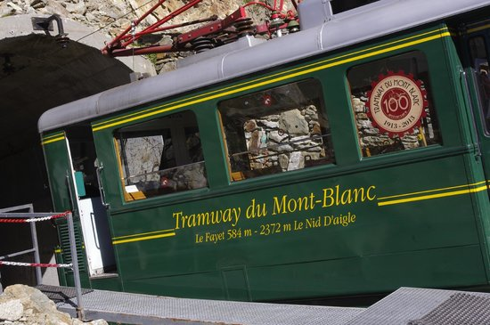 Tramway du Mont-Blanc : Tramway