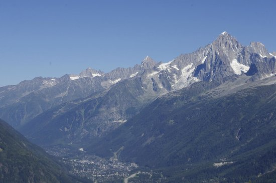 Tramway du Mont-Blanc : View from the top