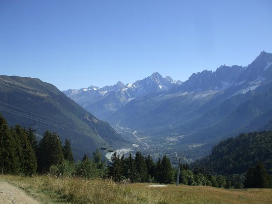Tramway du Mont-Blanc : Nice view