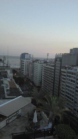 Merlin Copacabana Hotel: Vista da Cobertura.