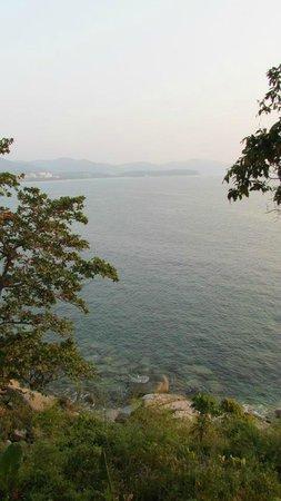 Secret Cliff Resort : View off balcony