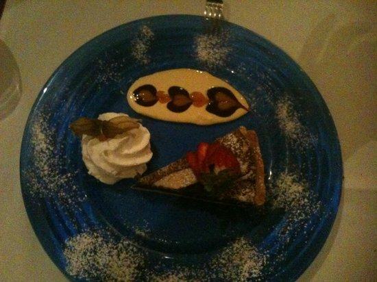 The Rose Bistro: Delicious chocolatey dessert