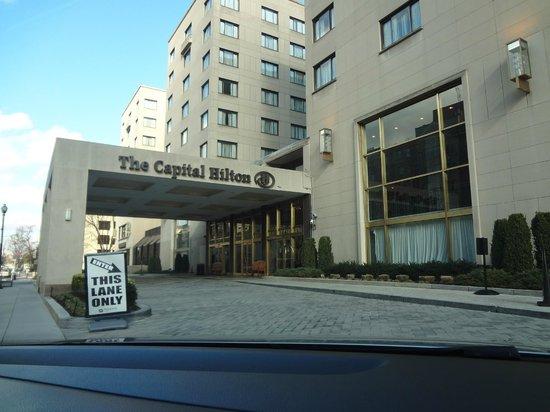 Capital Hilton: Front view