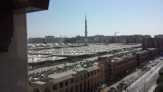 Elaf Taiba Hotel: We had a room with Haram view