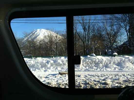 Niseko Village Ski Resort: On our way to the slope at Grand Hirafu