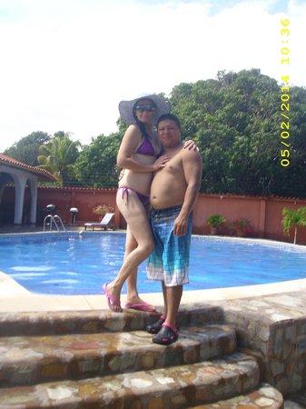 Posada Las Ross: la piscina