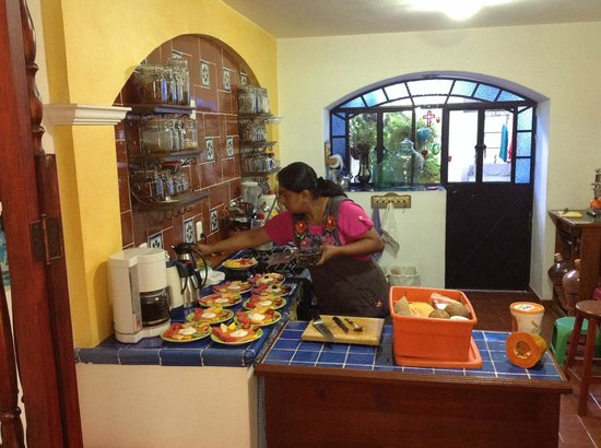 Estancia de Valencia: La cucina a disposizione degli ospiti