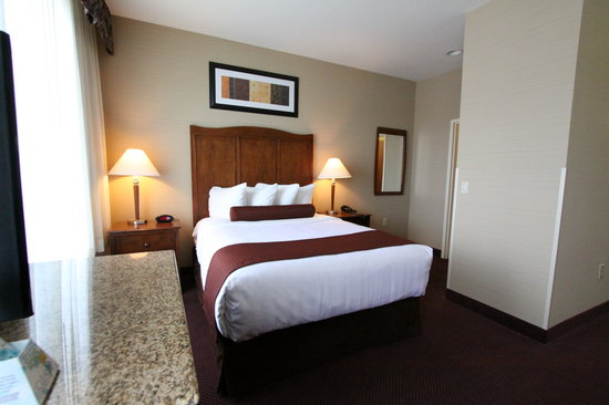BEST WESTERN PLUS Hannaford Inn & Suites: Queen Suite