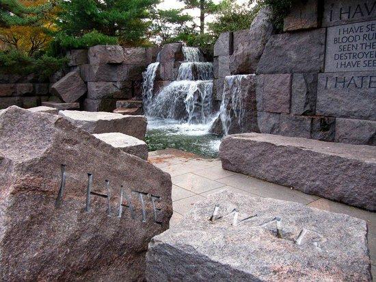 Franklin Delano Roosevelt Memorial: BEHOLD! Such beauty