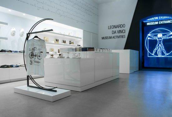 Leonardo da Vinci Museum : Bookshop