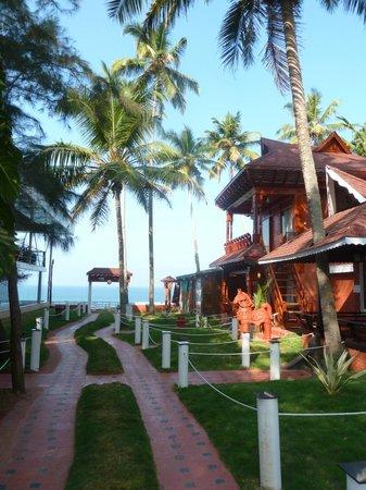 Clafouti Beach Resort: vue mer du jardin