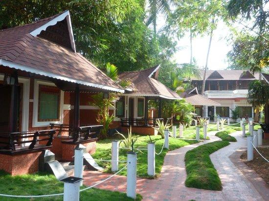 Clafouti Beach Resort: villas