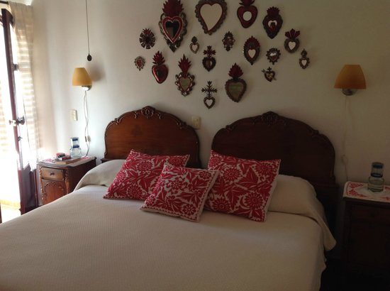 Estancia de Valencia: La camera da letto