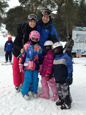 Peek'n Peak Ski Area: Outside the lodge