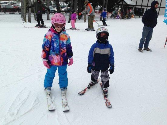 Peek'n Peak Ski Area: We love skiing!