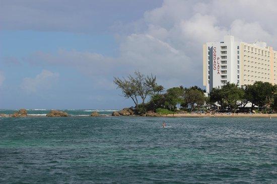 The Condado Plaza Hilton : Looking across Condado Bay