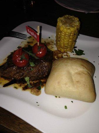 Restaurant Krizovy Vrch: Black angus steak