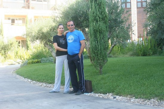The Westin Resort, Costa Navarino: περιβαλων χώρος κεντρικής πισίνας