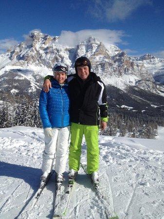 Granvara Relais & Spa Hotel: Herrliches Skigebiet