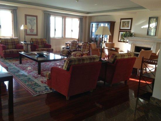 Gran Hotel Los Abetos: Sitting Area