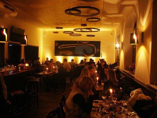 Mystikon: inside restaurant