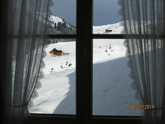 Hotel Hohes Licht: View from the dining room window