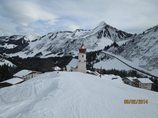 Hotel Hohes Licht: On the local ski runs