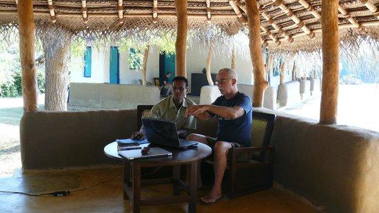 Puranagama Eco Lodge : Front Porch