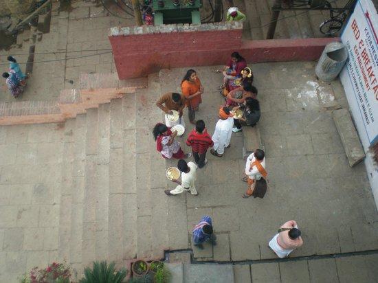 Kedareswar Bed & Breakfast: view from roof top