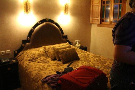 Riad Andalib: scorcio della camera