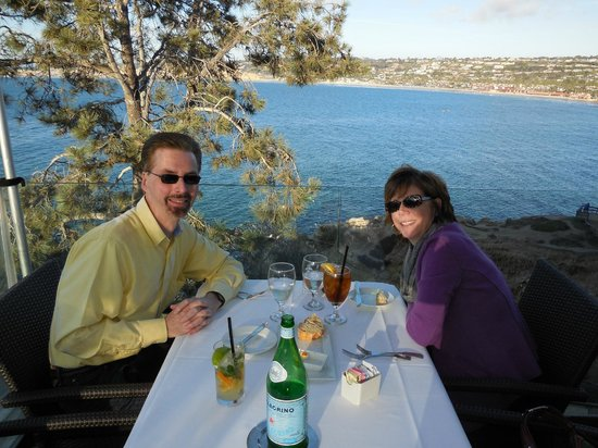 Eddie V's Prime Seafood: Table with a View
