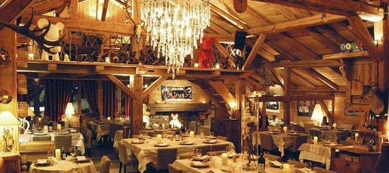 La Sauvageonne : La salle du restaurant... splendide