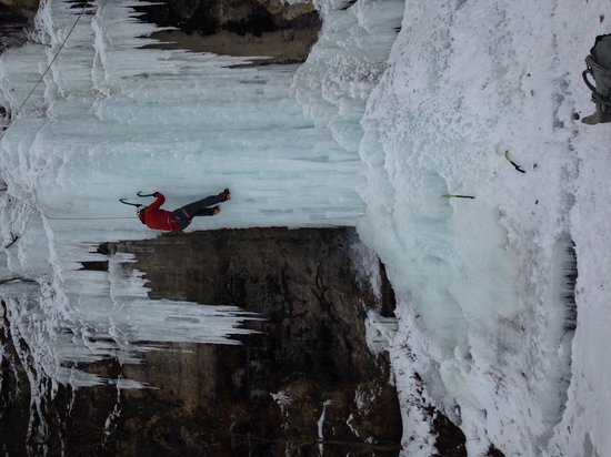 Apex Adventure Alliance - Day Tours: Ice forms differently daily.