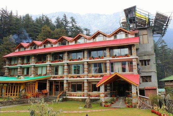 Johnson Lodge & Spa: the hotel | before snowfall