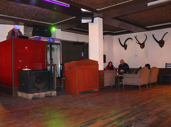 Johnson Lodge & Spa: DJ performing on sunday night party
